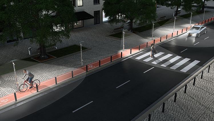 akıllı aydınlatma, akıllı sokak lambaları, ehir aydınlatması daha iyi idare edilerek şehirlerin enerji tüketimi azaltılarak tasarruf edilebilir ve sera gazı emisyonları azaltılabilir. Şehirlerarası yollarda aydınlatma direkleri kablosuz olarak haberleşip arızayı anında haber verebilir, lora akıllı aydınlatma