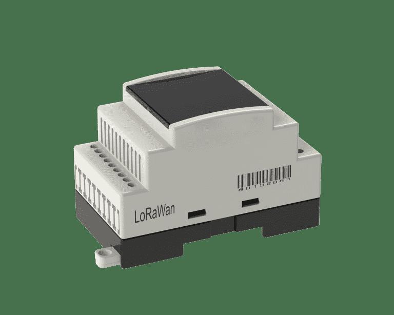 Lora Basınç Sensör Okuyucu, Ölçülen basınç değerlerini 5 dakikada bir merkeze iletir, 2 Kanal 4-20 mA girişie sahiptir,
