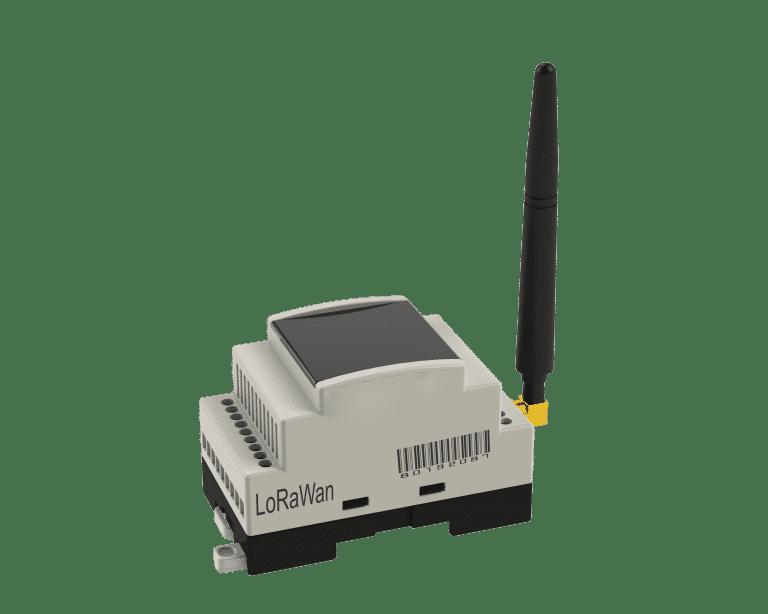 Lora-GSM Çevirici, GSM'den gelen paketleri LoraWan'a LoraWan'dan gelen paketleri GSM çevirir, 12-24V 500mA harici besleme girişi sahiptir.
