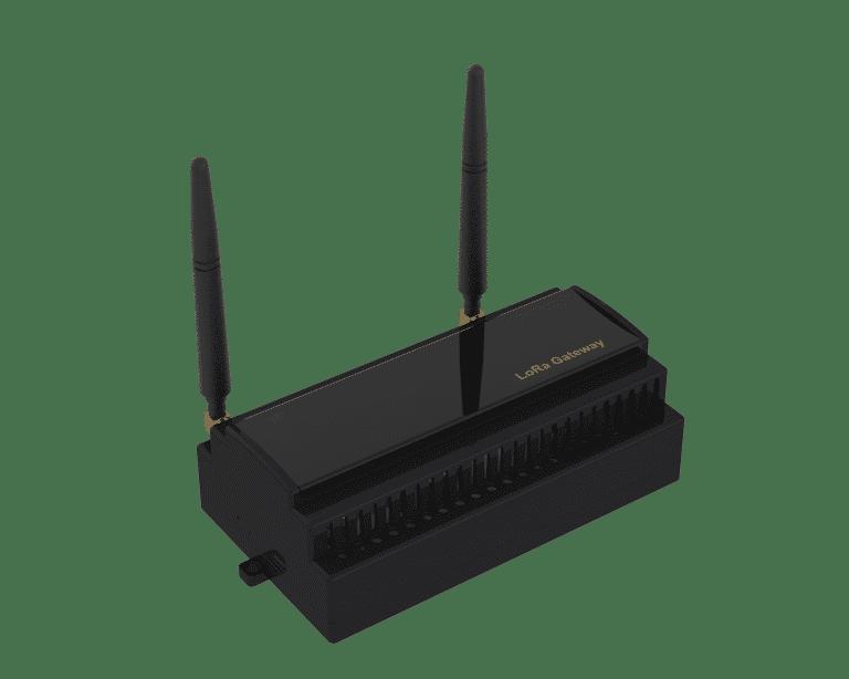 Lora Gateway Ray Tipi, 433-915 Mhz arası Lora Modülasyonu ve Lorawan protokollerini desteklemektedir. 15 Km'ye kadar veri toplayabilirsiniz, Ray tipi kutu ile otomasyon panolarına tam uyumludur.